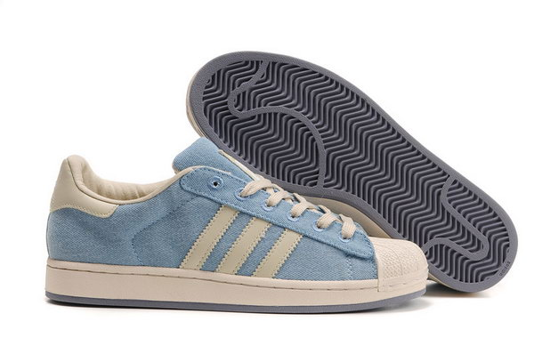 Adidas Superstar Mens & Womens (unisex) Denim Blue White Coupon